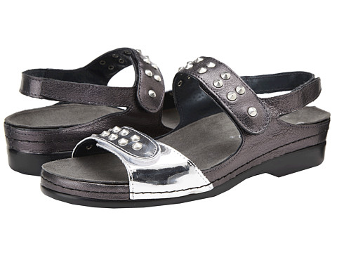 Helle Comfort - Tabula (Silver/Pewter) Women's Sandals