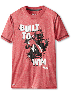 SALE! $15.99 - Save $9 on Fila Kids Built To Win Graphic Tee (Big Kids) (Red) Apparel - 36.04% OFF $25.00