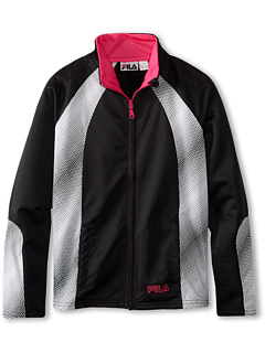 SALE! $10 - Save $30 on Fila Kids Fashion Track Jacket (Big Kids) (Black) Apparel - 75.00% OFF $40.00