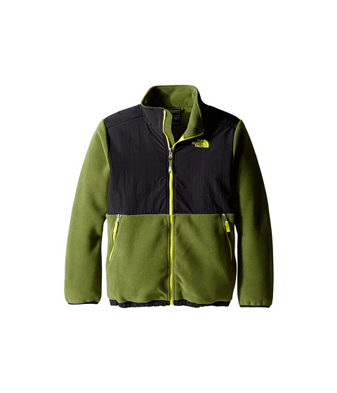 The North Face Kids - Denali Jacket (Little Kids/Big Kids) (R Scallion Green/TNF Black/Venom Yellow) Boy's Coat