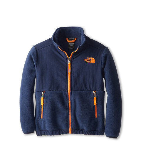 The North Face Kids - Denali Jacket (Little Kids/Big Kids) (R Cosmic Blue/Peel Orange) Boy's Coat