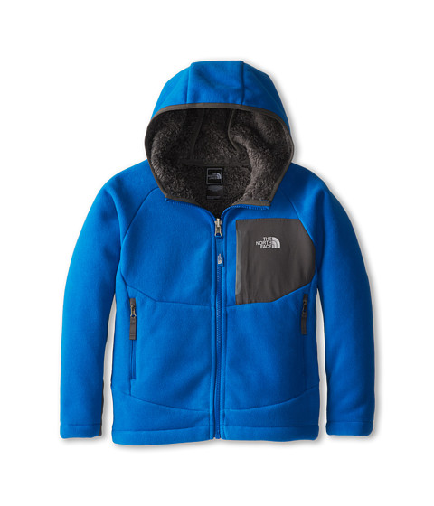 The North Face Kids - Chimborazo Hoodie (Little Kids/Big Kids) (Snorkel Blue/Graphite Grey) Boy's Sweatshirt