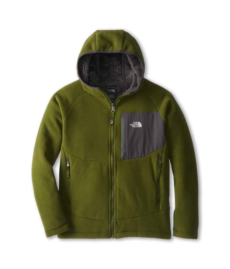 The North Face Kids - Chimborazo Hoodie (Little Kids/Big Kids) (Scallion Green/Graphite Grey) Boy's Sweatshirt