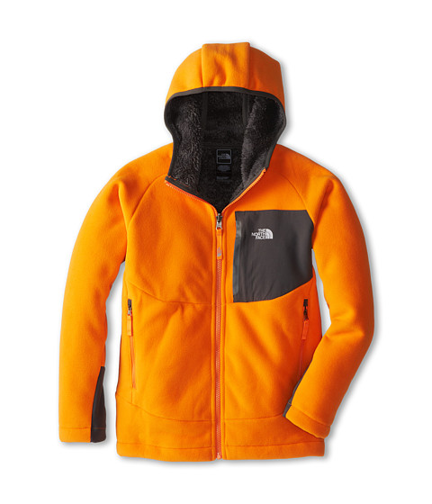 The North Face Kids - Chimborazo Hoodie (Little Kids/Big Kids) (Peel Orange/Graphite Grey) Boy's Sweatshirt