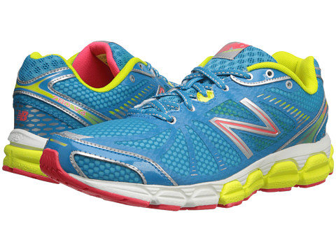 New Balance - W780v4 (Blue/Lime) Women's Running Shoes