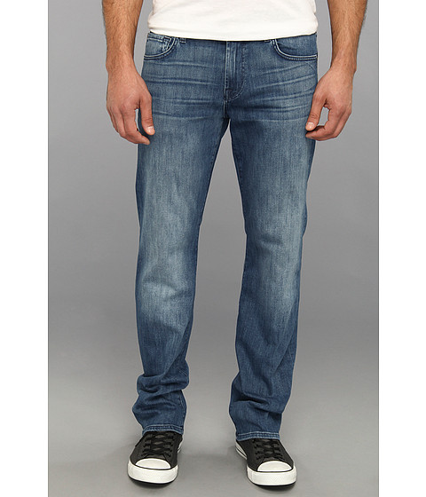 7 For All Mankind - Luxe Performance Carsen Easy Straight in Nakkitta Blue (Nakkitta Blue) Men's Jeans