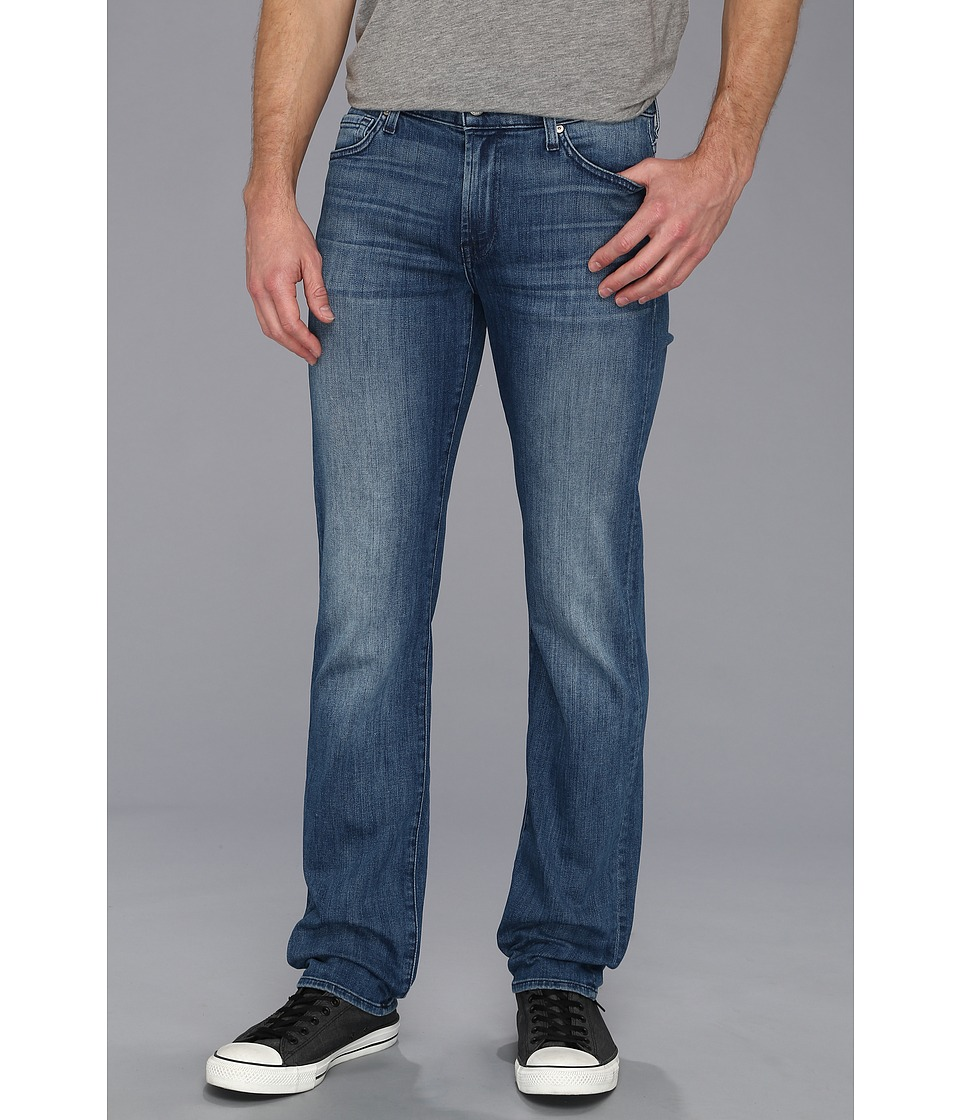 7 For All Mankind - Luxe Performance The Slimmy in Nakkitta Blue (Nakkitta Blue) Men's Jeans