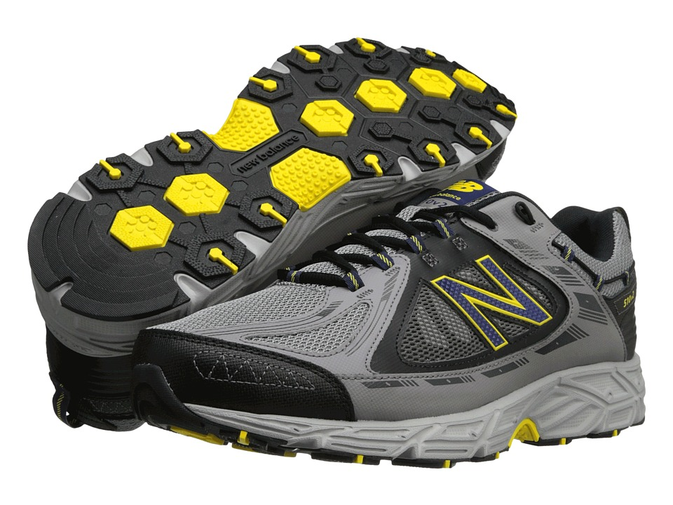 New Balance - MT510v2 (Grey/Yellow/Dark Grey) Men's Running Shoes