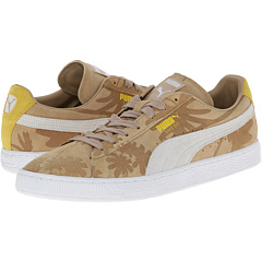 Suede Classic Tropicali (Curds & Whey/Vibrant Yellow)