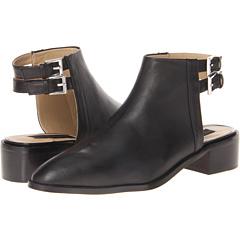 Steven Nadiya (Black Leather) Footwear