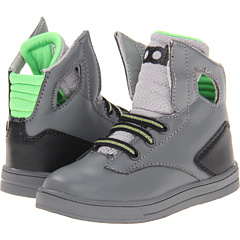 SALE! $12.99 - Save $27 on radii Footwear Kids Noble Toddlers (Infant Toddler) (Charcoal Lime Black) Footwear - 67.53% OFF $40.00
