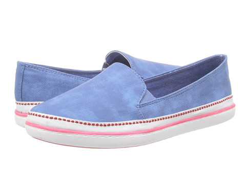 Bare Traps - Antaya (Denim Blue/White) Women's Shoes