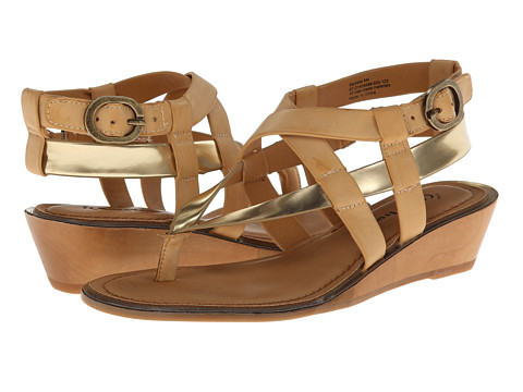 Bare Traps - Barrister (Natural/Gold) Women's Shoes
