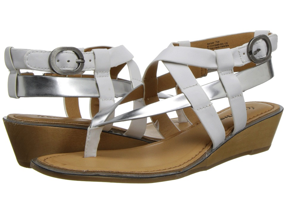 Bare Traps - Barrister (White/Silver) Women's Shoes