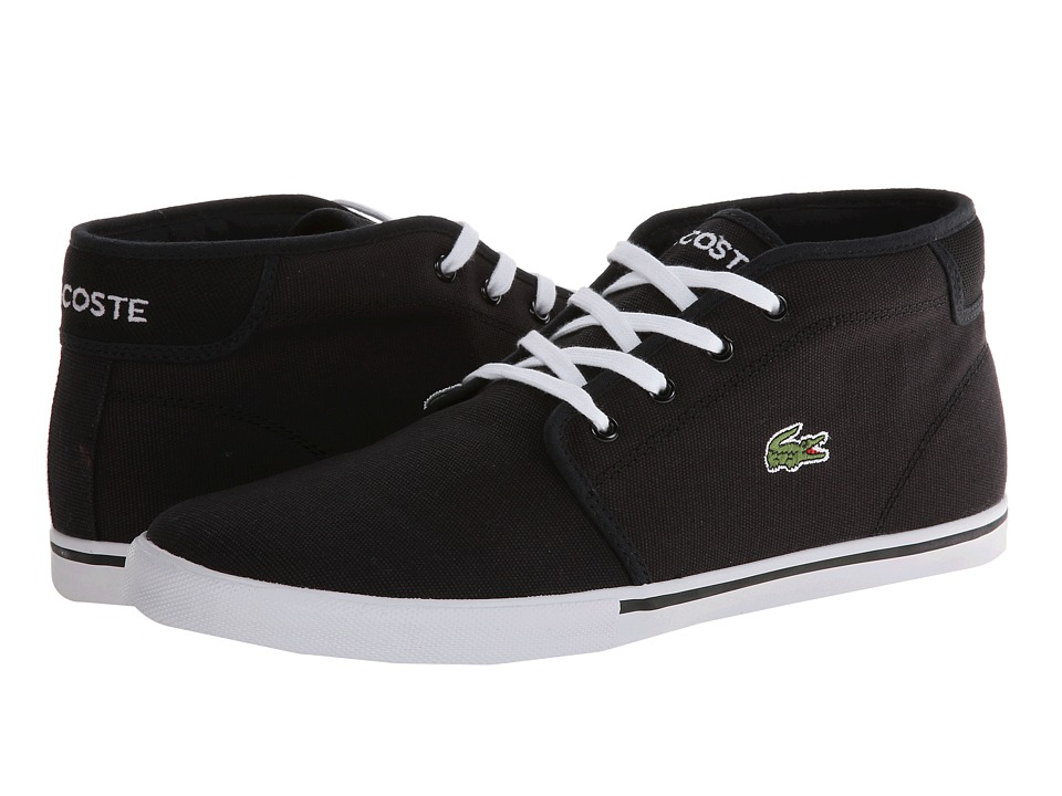 Lacoste - Ampthill LCR 2 (Black/Black) Men's Shoes