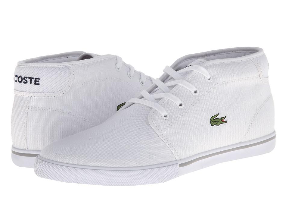 Lacoste Ampthill LCR 2 (White/White) Men