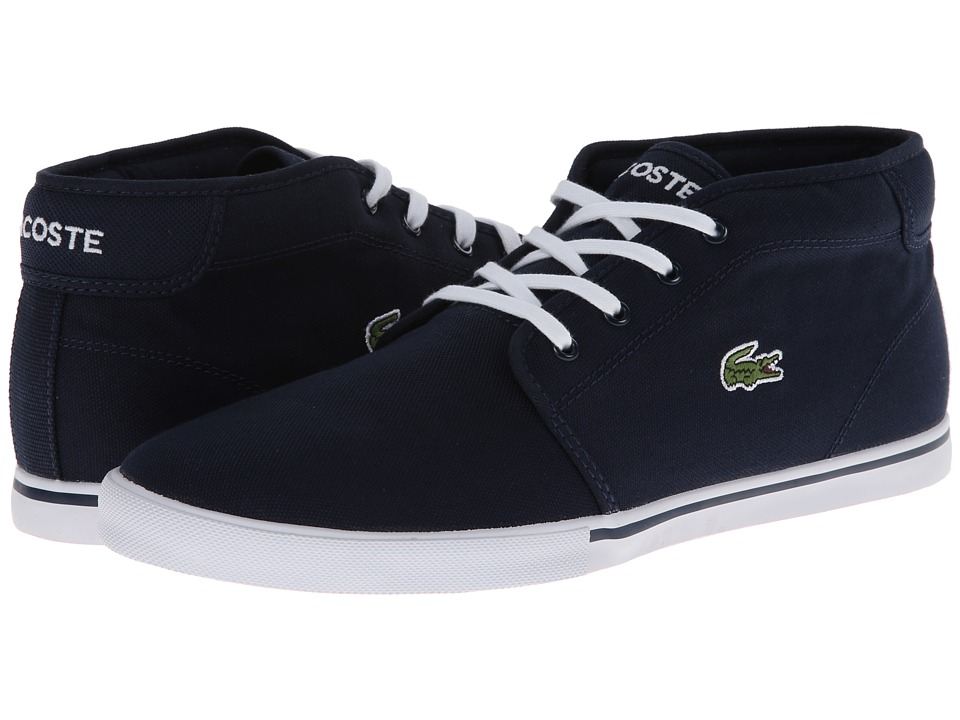 Lacoste - Ampthill LCR 2 (Dark Blue/Dark Blue) Men's Shoes