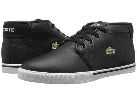 Lacoste - Ampthill LCR (Black/Black) Men's Shoes