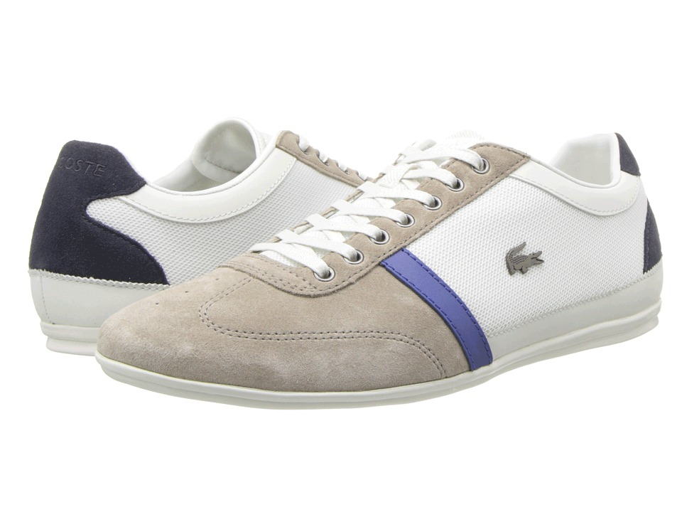 Lacoste - Misano 28 (Off White/Grey) Men's Lace up casual Shoes