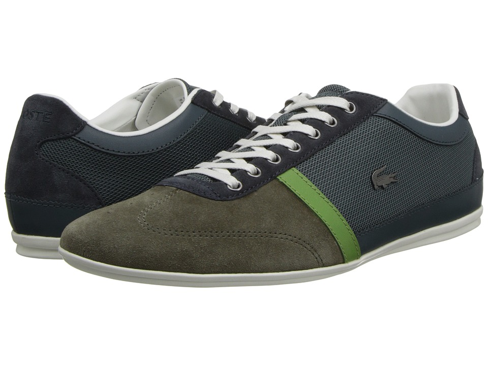 Lacoste - Misano 28 (Dark Green/Green) Men's Lace up casual Shoes