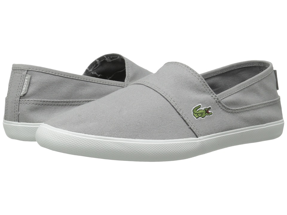 Lacoste - Marice LCR (Grey/Grey) Men's Slip on Shoes