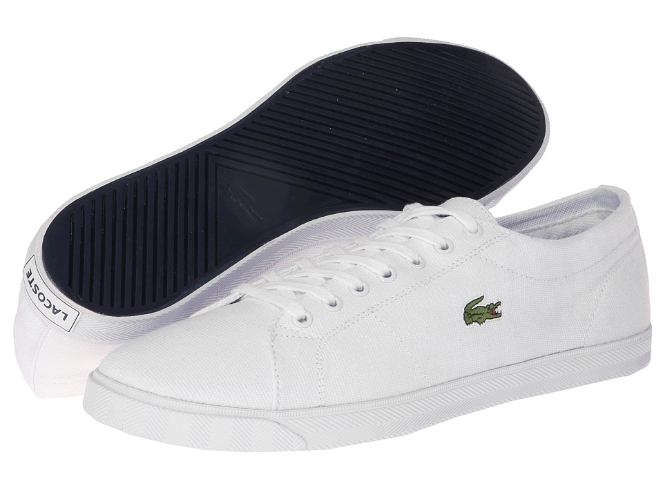 Lacoste - Marcel LCR 2 (White/White) Men's Shoes