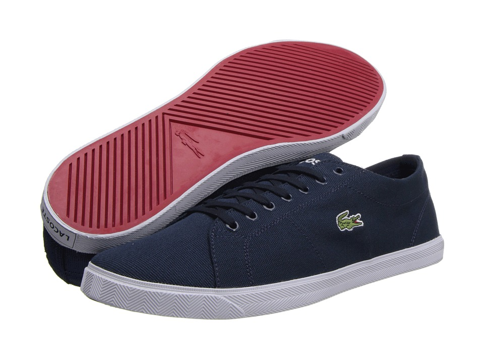Lacoste - Marcel LCR 2 (Dark Blue/Dark Blue) Men's Shoes