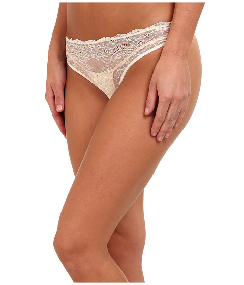 Stella McCartney - Minnie Sipping Thong Brief (Ivory) Women's Underwear