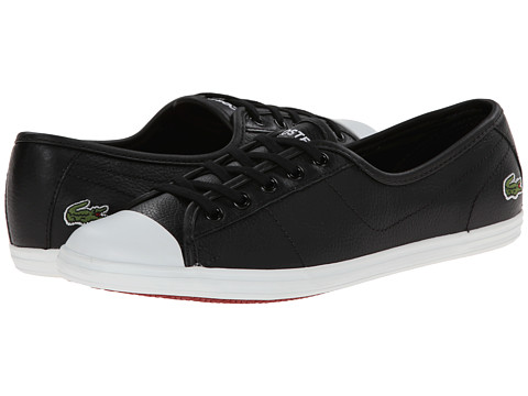 Lacoste - Ziane LCR (Black/Black) Women's Shoes