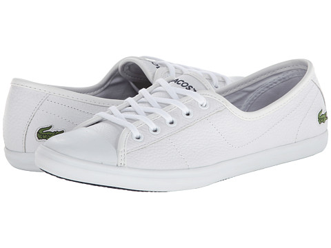 Lacoste - Ziane LCR (White/White) Women's Shoes