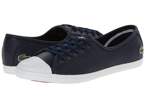 Lacoste - Ziane LCR (Dark Blue/Dark Blue) Women's Shoes
