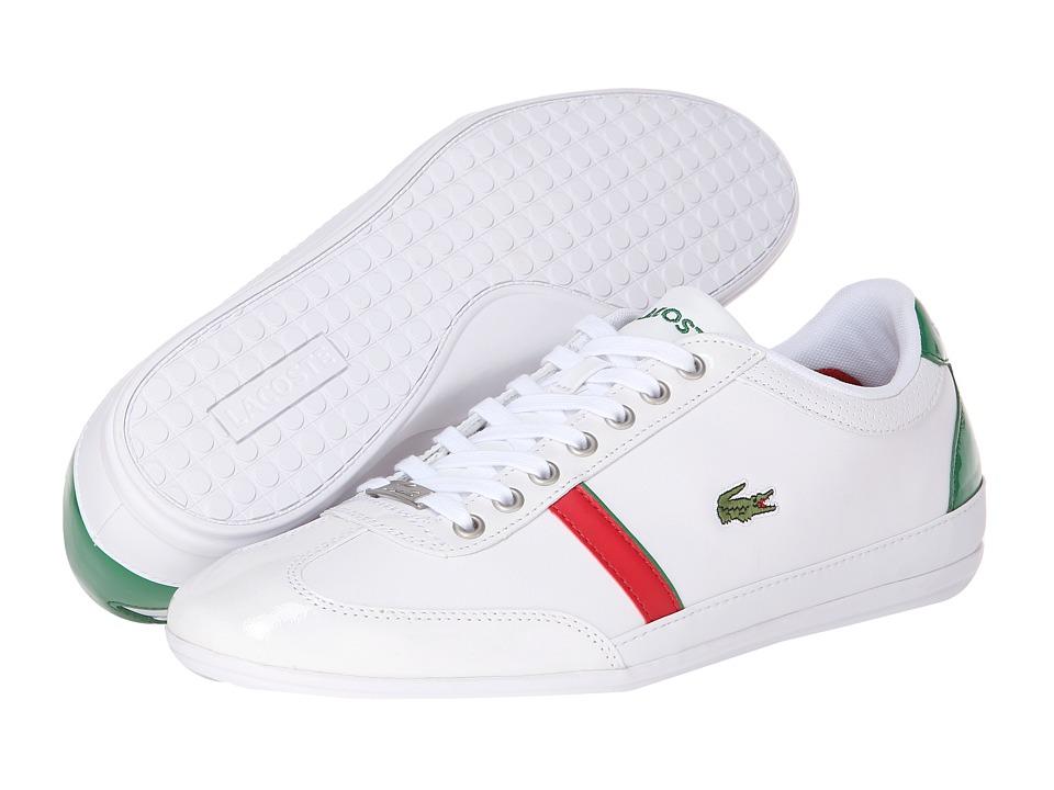 Lacoste Misano Sport Slx White-Green Mens Shoes