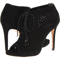 Pour La Victoire Vanzay (Black Kid Suede) Footwear