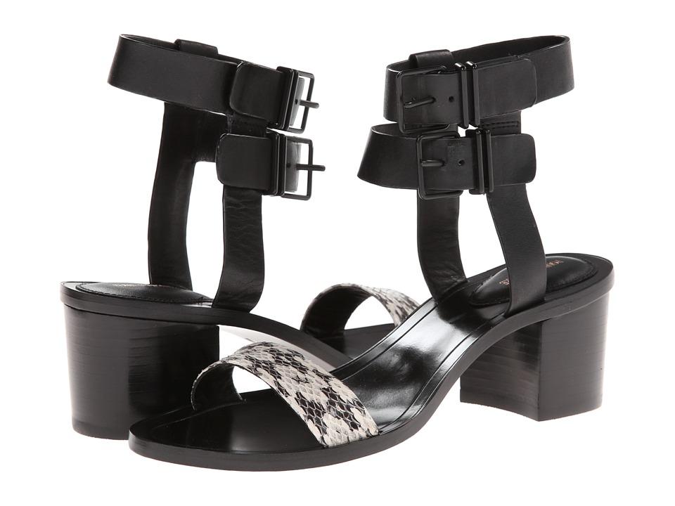 Pour La Victoire - Dagney (Marble/Black Serpente/Vachetta) Women's Shoes