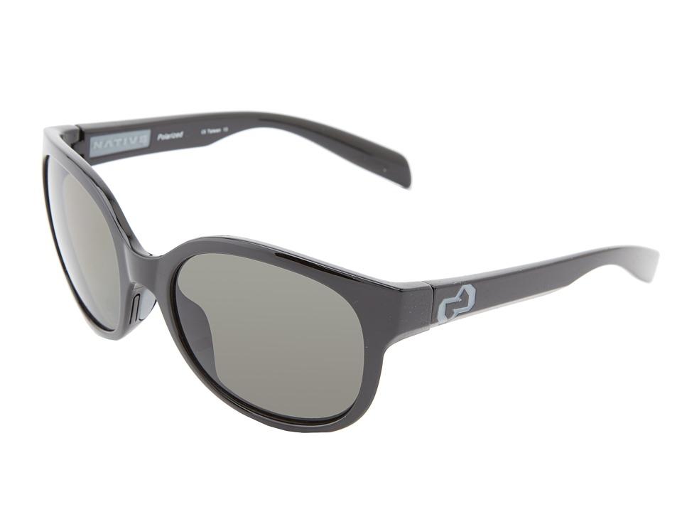 Native Eyewear - Pressley (Iron Gray) Sport Sunglasses