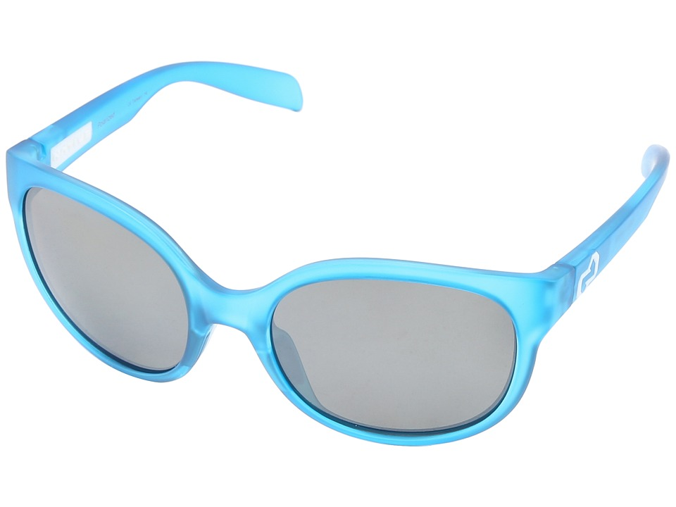 Native Eyewear - Pressley (Cobalt Frost Silver Reflex) Sport Sunglasses