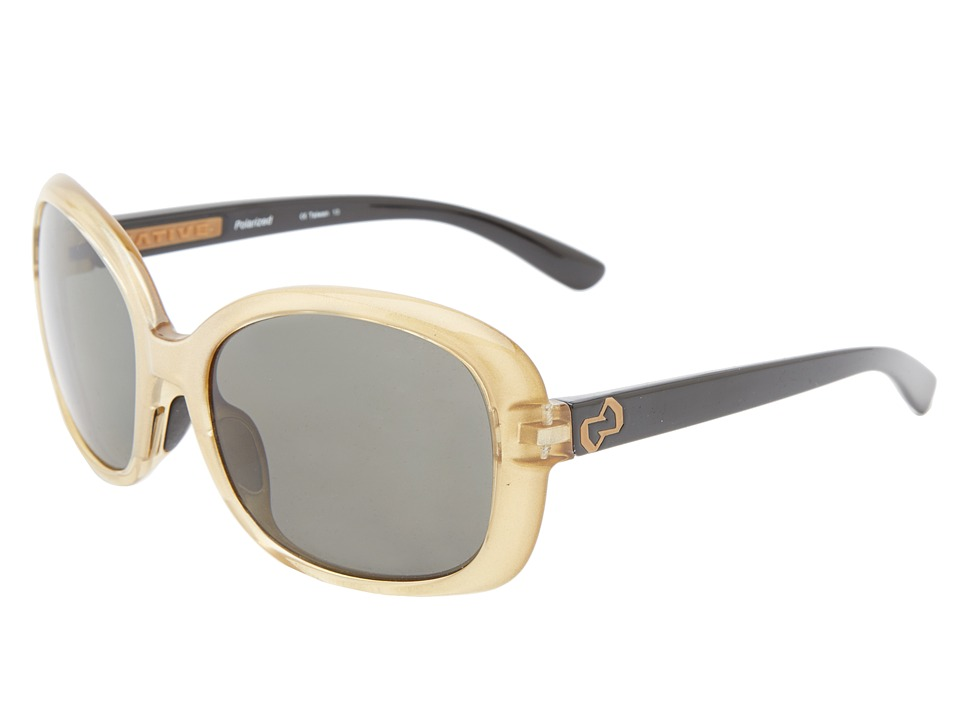 Native Eyewear - Perazzo (Metallic Gold/Iron Gray) Sport Sunglasses