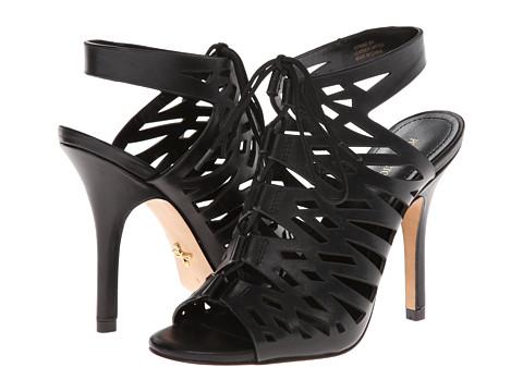 Pour La Victoire - Yermak (Black Vachetta) High Heels