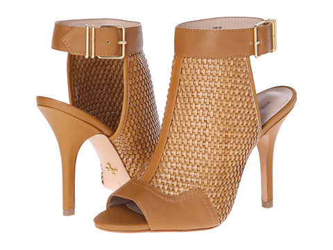 Pour La Victoire - York (Cigar Woven Leather PU/Calf) High Heels