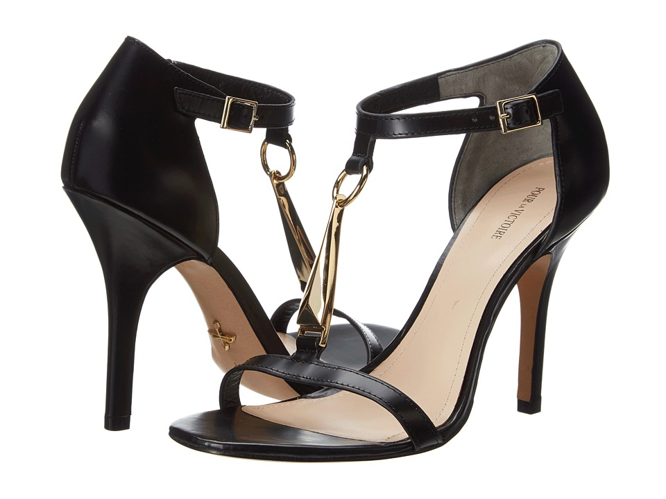 Pour La Victoire - Yolanda (Black Box Calf) High Heels