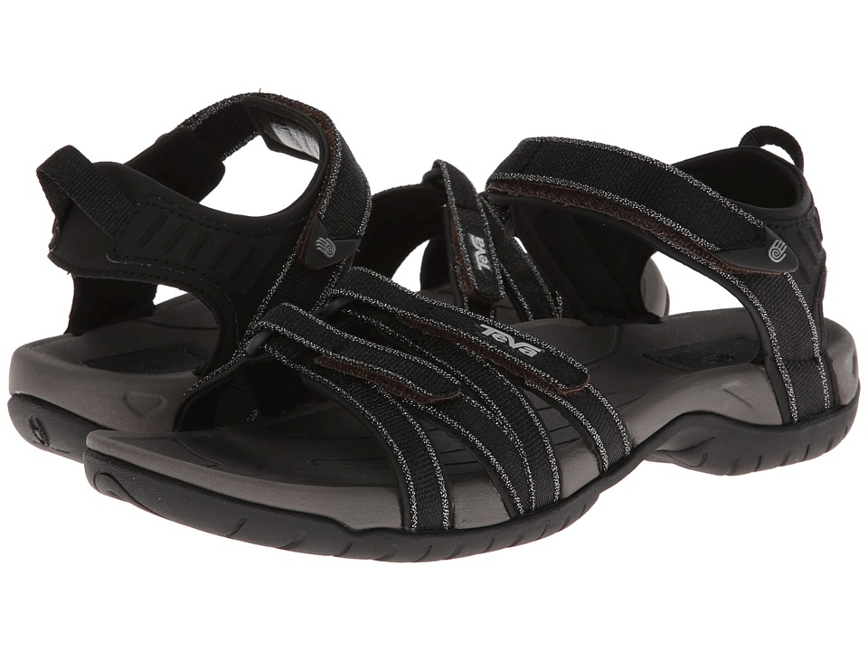 Teva - Tirra Metallic (Black) Women's Shoes