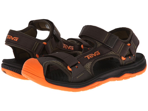 Teva - Hurricane Toe Pro (Black Olive) Men's Shoes