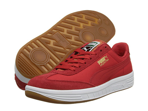 PUMA - Argentina FIL (Red/White) Men's Shoes