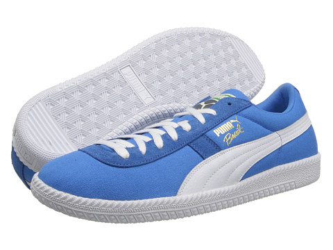 PUMA - PUMA Brasil FIL CVS (French Blue/White) Men