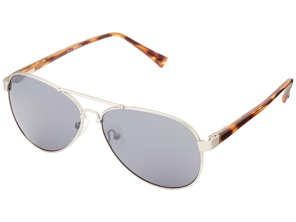 Vince Camuto - VC512 (Matte Silver) Metal Frame Fashion Sunglasses