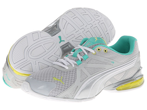 PUMA - Voltaic 5 (Glacier Gray/Sunny Lime/Electric) Women