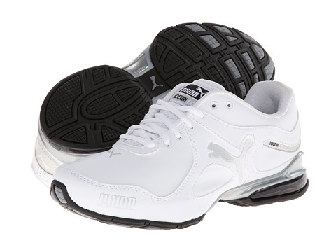 PUMA - Cell Riaze SL (White/Puma Silver) Women's Running Shoes