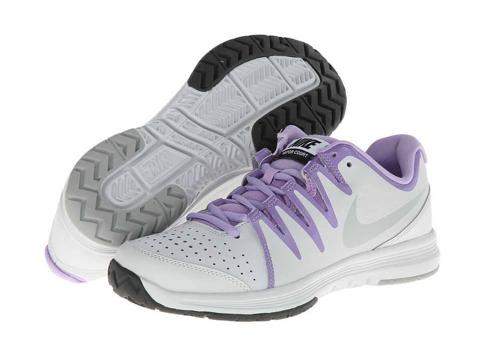 Nike - Vapor Court (Light Base Grey/Urban Lilac/Black/Base Grey) Women
