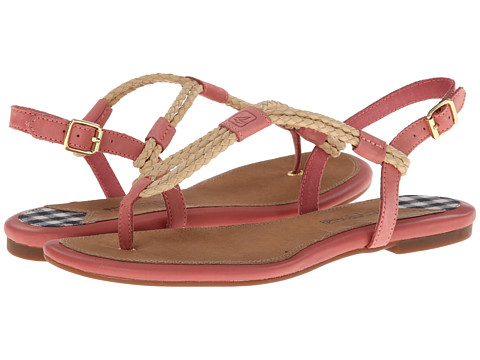 Sperry Top-Sider - Lacie (Washed Red/Sand Woven) Women's Shoes