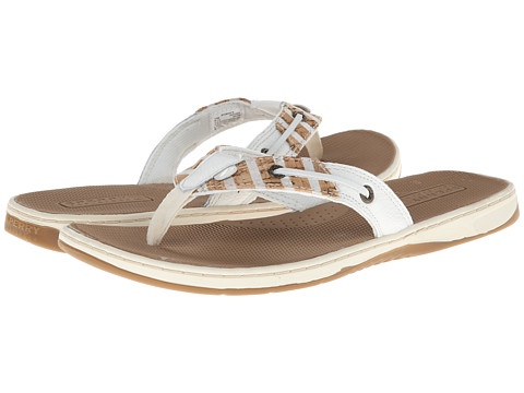 Sperry Top-Sider - Seafish (White/Bretton Stripe) Women